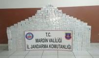Ömerli'de 8 Bin 300 Paket Kaçak Sigara Ele Geçirildi