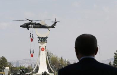 Özel harekat Külliye'ye helikopterden indi