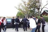 ASKERLİK ŞUBESİ - Polise Kavga İhbarlı 173. Yıl Sürprizi