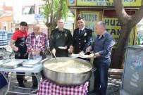 ALI SıRMALı - Polisler, Şehitler İçin Mevlit Okutup Hayır Yaptılar