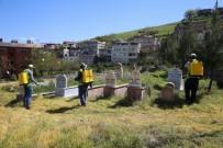 Siirt'te Yeşil Alanlarda İlaçlama Çalışması Başlatıldı