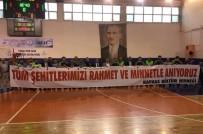 Tokat'ta, Şehitleri Anma Kaymakamlık Kupası Voleybol Turnuvası