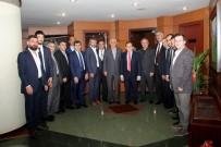 YARIŞ - TTSO Başkanlarından TTB'ye Ziyaret