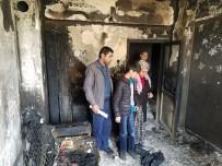 Yangında Mahsur Kalan Vatandaş Kurtarıldı
