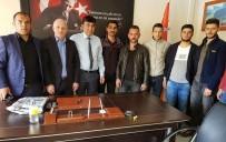 GRUP GENÇ - AK Parti Çıldır Gençlik Kolları Emniyeti Ziyaret Etti
