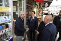 AK Partililer Esnaf Ziyarete Yaptı