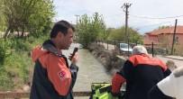 Aksaray'da Sulama Kanalına Düşen Genç Kayboldu
