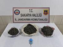 Akyazı'da 2 Kilogram 450 Gram Kubar Esrar Yakalandı