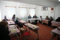 Başkan Saraçoğlu, Yunus Emre Ve Şelale Kur'an Kursu'nu Ziyaret Etti