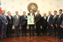 Başkan Yeşil, Projelerini TOBB Başkanı Hisarcıklıoğlu'na Anlattı