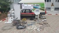BUZDOLABı - Çanakkale'de 4 Kişi Hırsızlıktan Tutuklandı