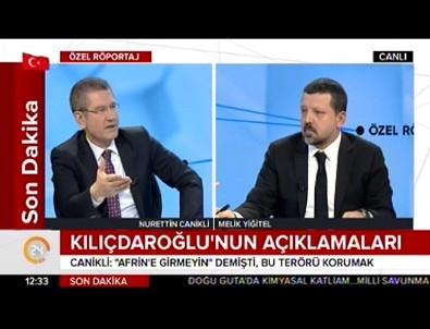 Canikli: Kılıçdaroğlu teröristlerin temizlenmesinden rahatsız oluyor