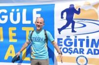 KUZEY KUTBU - Eğitim İçin Artvin'den Muğla'ya Bin 645 Kilometre Koşacak