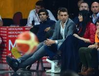 OKTAY MAHMUTI - Galatasaray Futbol Ve Basketbol Takımı'ndan Kadın Basketbola Destek