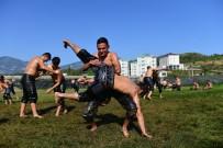 HÜSAMETTIN ÇETINKAYA - Güreşçiler Kumluca'da Kampa Girdi