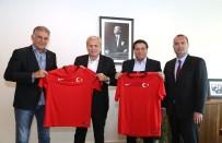 HAZIRLIK MAÇI - İran Futbol Federasyonu'ndan TFF'ye Ziyaret