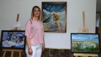 KİMSESİZ ÇOCUKLAR - Kadın Ressamdan Kimsesiz Çocuklar Yararına Sergi