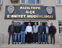 Kızıltepe'de Gazetecilerden Emniyete Ziyaret