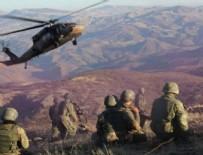 HAVAN SALDIRISI - Kuzey Irak'ta havan saldırısı: 1 asker şehit