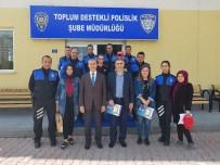 KAHRAMANLıK - Öğrencilerden Polislere Ziyaret