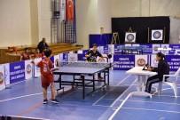 CAHIT ZARIFOĞLU - Osmaniye'nin Masa Tenisi Şampiyonları Belli Oldu