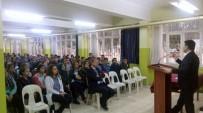 Rektör Karacoşkun 15 Temmuz Anadolu Lisesinde Öğrencilerle Buluştu