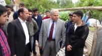 EVDE ÇALIŞMA - Silvan'da 'Meslek Lisesi Öğrencilerle Ailelerimizle Buluşuyor' Projesi