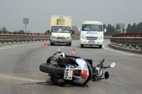 Tırın Çarptığı Motosikletli Hayatını Kaybetti