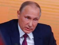 ABD BAŞKANI - Trump'tan sonra Putin de konuştu