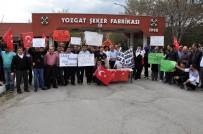 Yozgat Şeker Fabrikası'nda Çalışan Taşeron İşçiler Kadro İstiyor