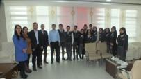 Yurtdışına Giden Öğrencilerden Kaymakam Kırlı'ya Ziyaret