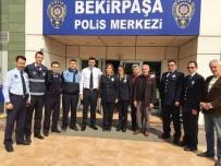 BEKIRPAŞA - Zabıta'dan Polislere Ziyaret