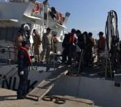 FILDIŞI SAHILI - 72 Kaçak Göçmen Yakalandı