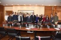 AÇIKÖĞRETİM - 'Ana-Dil Açıklaması Türkçe' Proje Ekibi Rektör Gündoğan'ı Ziyaret Etti