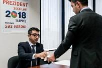 ALIYEV - Azerbaycan Cumhurbaşkanlığı Seçimlerinde Oy Verme İşlemi Los Angeles Başkonsolosluğu'nda Başladı