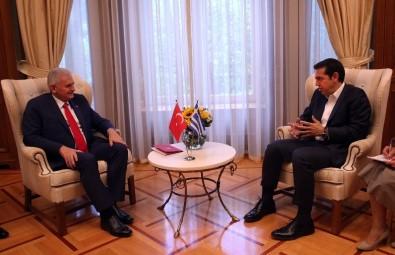 Başbakan Yıldırım, Çipras ile telefonda görüştü