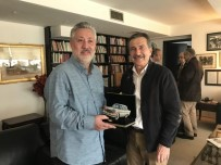 CUMHURIYET GAZETESI - Başkan Ataç'tan Sabuncu'ya Ziyaret