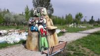 Bismil'deki Masal Parkı'nın Kahramanları Yerlerini Alıyor