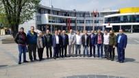 DTSO Başkanı Şahin Ve Meclis Başkanı Dertli Vatandaşla Sohbet Etti