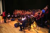 TÜRK HALK MÜZİĞİ - Halk Merkezleri Korosu'nun Yıl Sonu Konseri