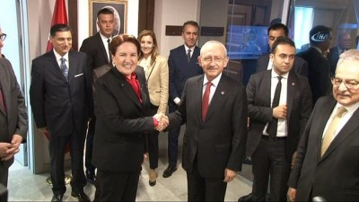 Kılıçdaroğlu ile Akşener 'seçim güvenliğini' konuştu