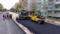 ASKERLİK ŞUBESİ - Kırşehir'de Asfaltlama Çalışmaları Devam Ediyor