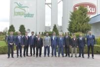 KMÜ Heyeti Konya'daki Tesislere Teknik Gezi Düzenledi