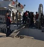 FILDIŞI SAHILI - Kuşadası Körfezi'nde 72 Kaçak Göçmen Yakalandı
