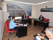 TAHIR ŞAHIN - Lapseki'de Güvenlik Toplantısı