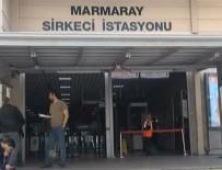 MARMARAY - Marmaray Sirkeci İstasyonunda Bir Kişi Raylara Düştü