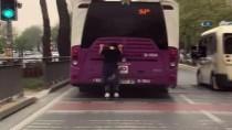 Patenci Gencin Tehlikeli Yolculuğu Kamerada