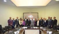 YÜKSEK İSTIŞARE KONSEYI - STK'lardan ATO Başkan Yardımcısı Deryal'e Geçmiş Olsun Ziyareti