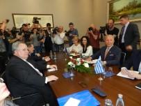 YUNANİSTAN DIŞİŞLERİ BAKANI - Yunanistan Dışişleri Bakanı Kotzias'ın Kosova Temasları