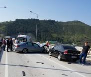HATALı SOLLAMA - 3 araç birbirine girdi! 1 ölü, 3 yaralı